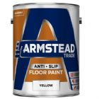 Armstead Trade Anti Slip Floor Paint Yellow 5 Litres